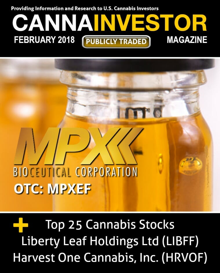 Cannabis Investor Magazine feb 2018
