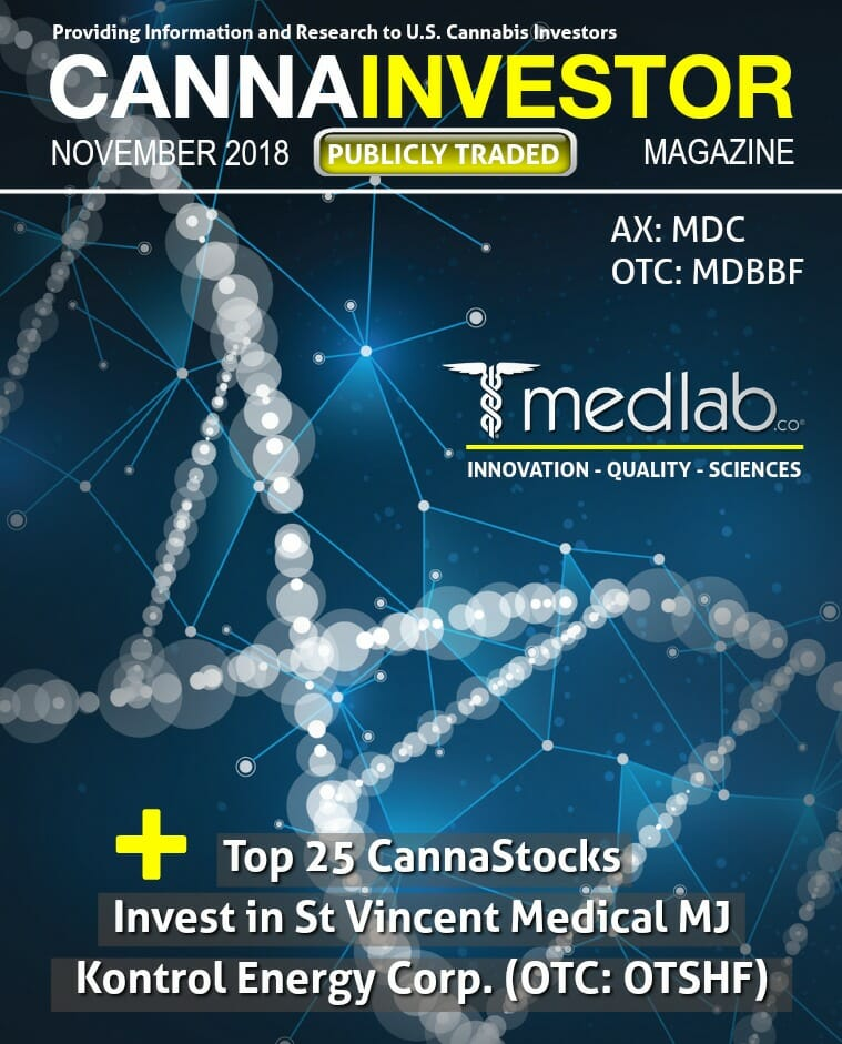 November 2018 Publicly Traded